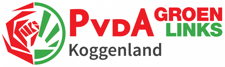 Logo PVDA Groen Links Koggenland