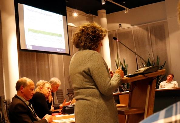 Karin Rietveld in de raad Koggenland
