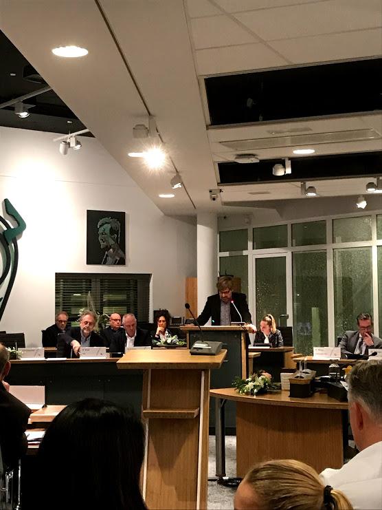 raadsvergadering - motie PvdA-GL